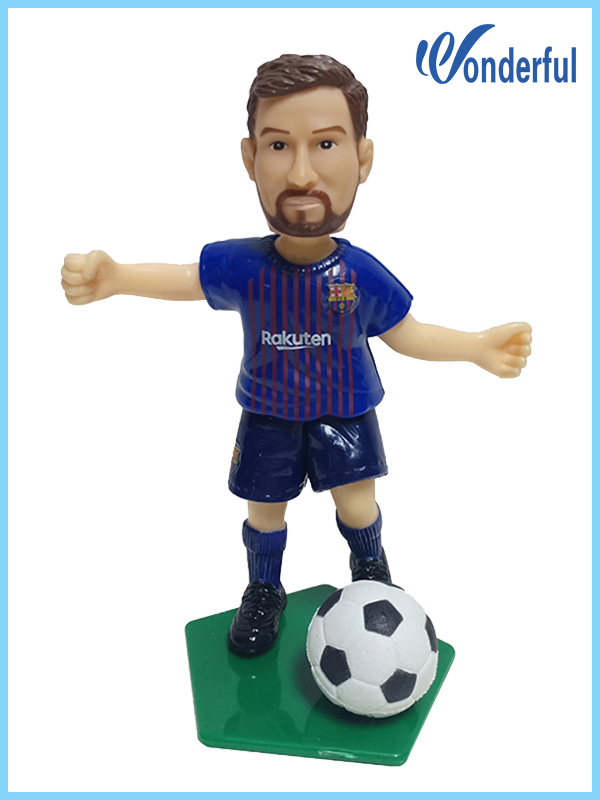 football player action figures Messi