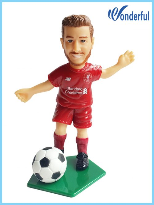 plastic football figures factory