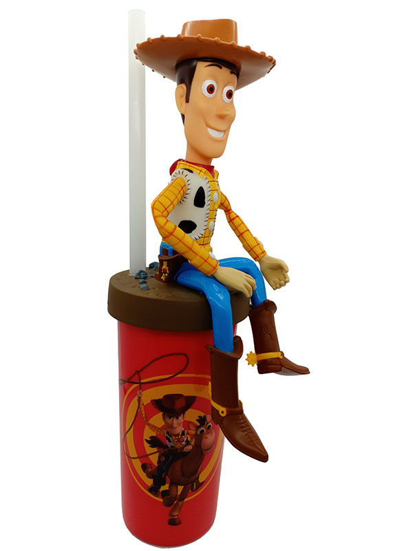 Toys story 4 action figure straw cup